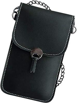 Portable PU Leather Change Bag Women Cross Body Purse Mobile Phone Shoulder Bags