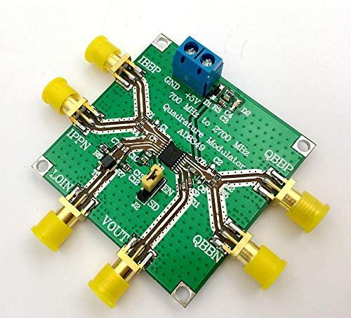 Davitu AD8349 quadrature modulation module 700 MHz to 2.7 GHz I Q modem module