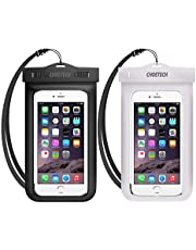 Universal Waterproof Case, CHOETECH 2 Pack IPX8 Clear Waterproof Phone Pouch Cellphone Dustproof Dry Bag Compatible with iPhone 12 Mini 11 Pro Max X Galaxy S20 S10 S9 and All Devices Up to 7 Inches