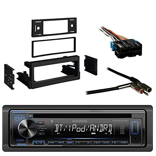 Kenwood In-Dash Single-DIN CD Player AUX Car Stereo Receiver