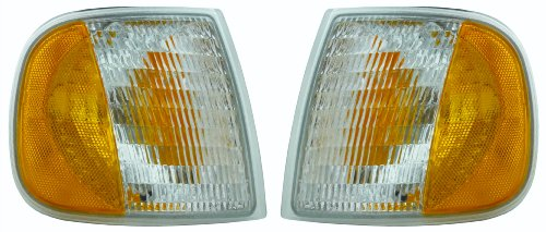 Ford Pickup Truck 97-03 Corner Signal Park Lights Lamps Pair Set Left & Right 02 Ford Expedition Corner