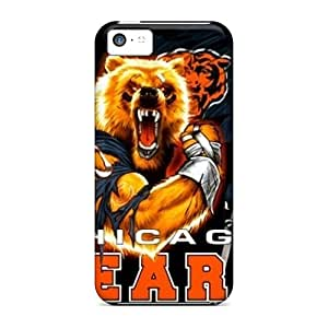 Iphone 5c UQB6456YKSV Custom High-definition Chicago Bears Pattern Bumper Cell-phone Hard Cover -RichardBingley