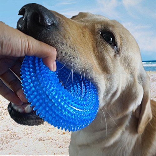 Durable Dog Chew Toys - Comtim Dog Chew Toys with Squeaker f