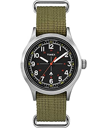 Amazon.com: Timex Todd Snyder - Reloj militar con correa de ...