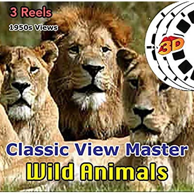 Wild Animals - Vintage Classic ViewMaster - 3 Reels Only: Toys & Games