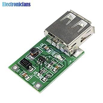 5Pcs New 600mA 0.9V-5V to 5V DC-DC Converter Step Up Boost Module with USB