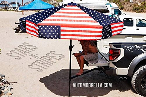 Automobrella Tailgating Shade Systems - Full Single Kits (Flag)