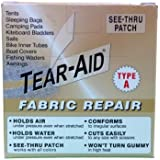 Tear-Aid Repairs Patch Roll Kit for Type A Fabrics
