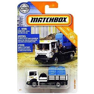 Matchbox 2020 MBX Construction Poop King 22/100, White: Toys & Games