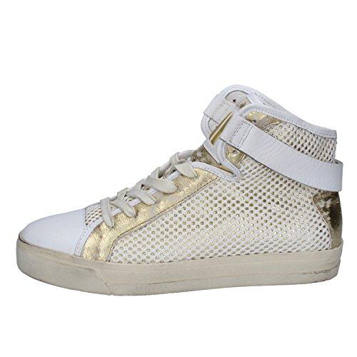 CRIME Sneakers Donna Pelle / Tessuto