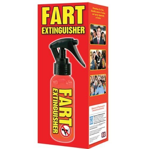 Great Fun Adult Toy for a Laugh - Fart Extinguisher Air Freshener - Novelty and Fun Gift / Present for Her, Women, Ladies Birthday or Christmas Smiley Gifts & Gadgets