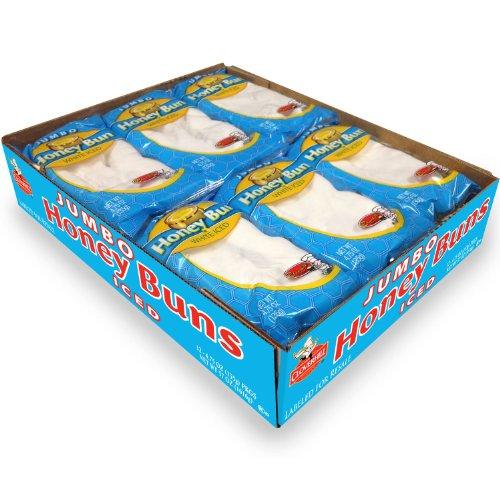 Cloverhill Jumbo Iced Honey Buns - 12 ct.