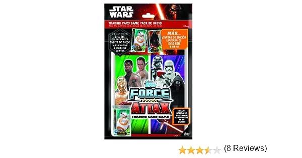 Star Wars - Pack de Inicio de Cartas (Topps TODFCST): Amazon.es: Juguetes y juegos