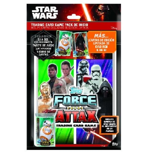 Amazon.com: Star Wars – Start Pack of Cards (Topps todfcst ...