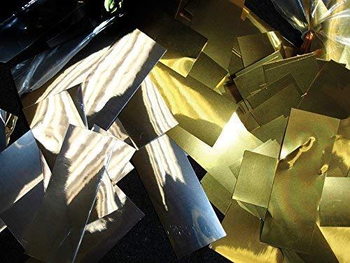 Metallic Confetti, 3.3lbs, 3/4'' x 2'' Strips, Slow Fall (Gold)
