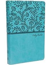 KJV, Deluxe Gift Bible, Leathersoft, Teal, Red Letter, Comfort Print: Holy Bible, King James Version