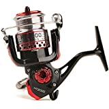 Entsport Spinning Reel Metal Spool Spinning Fishing Reel Saltwater/Freshwater Spin Fishing Reel Right/Left Exchangeable Handle Spin Reel Inshore Fishing Reel (3000 Series)