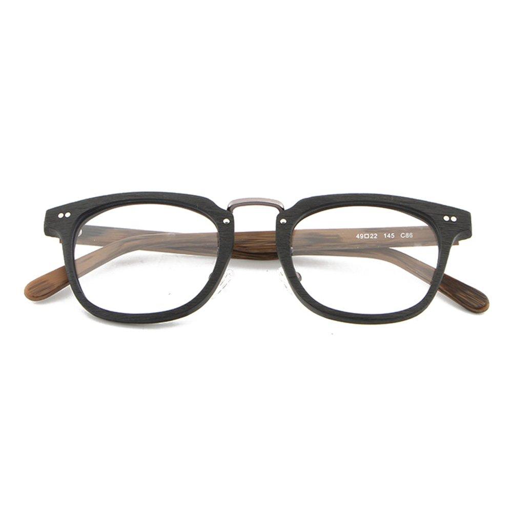 Moda Occhiali da vista Montatura per occhiali 180207YJJ02 Juleya Occhiali in legno per uomo Donna