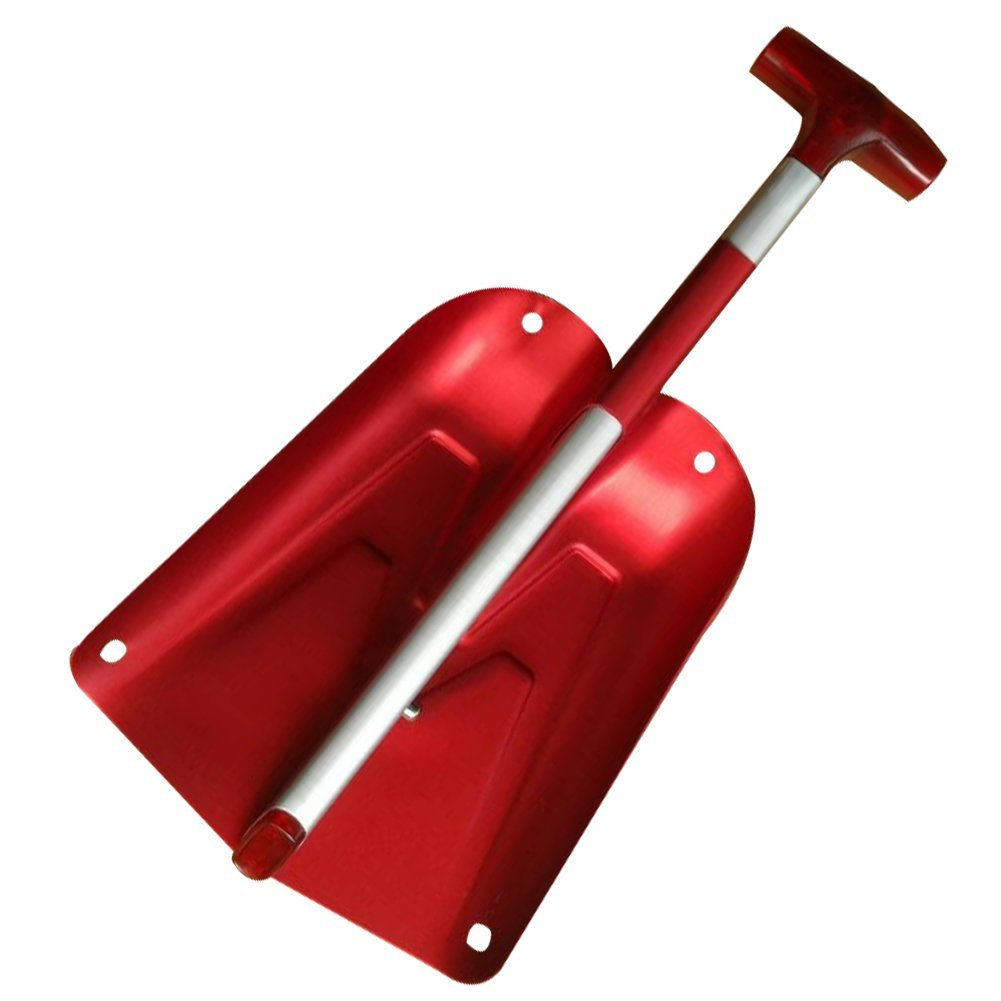 Telescopic Snow Shovel Portable Aluminum Snow Removal Shovel for Car and Household Courtyard