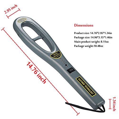 Hand Held Metal Detector,V-Resourcing Portable High Sensitivity Metal Detector for Security Inspection by V-Resourcing (Image #1)