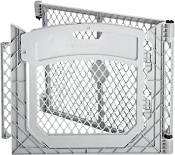 Good North States Superyard PlayPen Door Panel Extension Kit   Grey | 8651