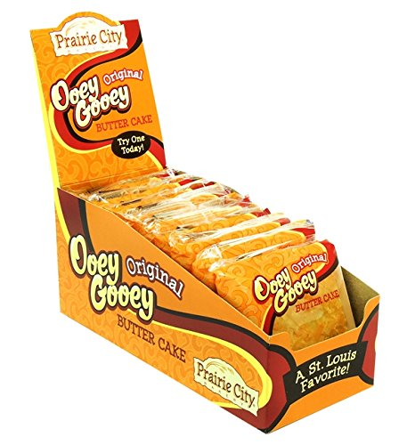 Product Of Prairie City , Ooey Gooey Original Butter Cake , Count 10 (2 oz) - Cakes & Muffins / Grab Varieties & Flavors