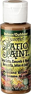 product image for DecoArt Patio Paint, 2-Ounce, Pinecone Brown