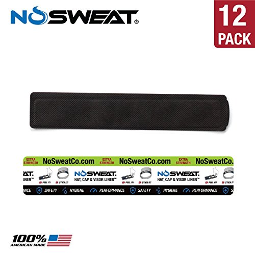 No Sweat Visor Hat & Cap Liner | Moisture Wicking, Towel Like - Prevent Sweat Stains - Absorb Sweat, Hat Saver - Golf Visor, Tennis Visor, Running, Fitness, Training, Workout, - Triathlon Hats