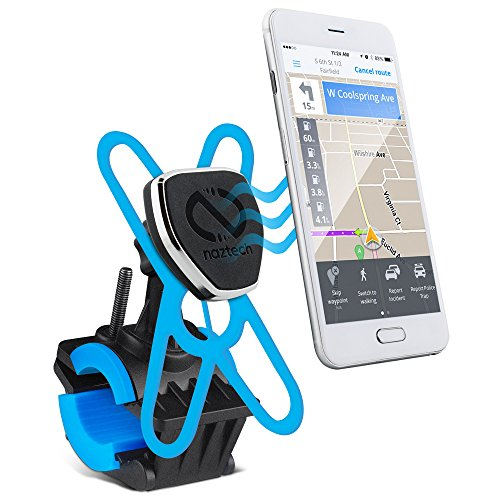 Naztech MagBuddy Universal Magnetic Cell Phone Holder.Fully Secured, Body Protective For Bikes, Motorcycle & Strollers.Mount Fits All Cellular Devices