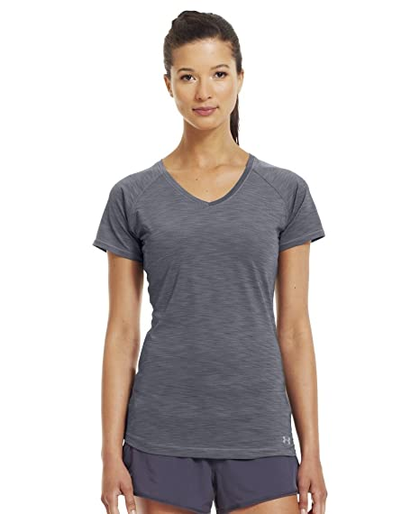 6cfaa5ce224cd Amazon.com: Under Armour Women's UA Get Set Go T-Shirt X-Small Lead ...
