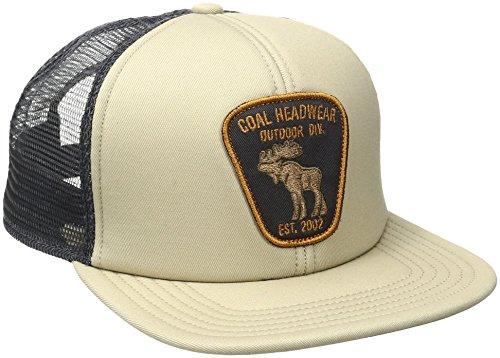 Coal Men's The Bureau Trucker Hat, Khaki, One Size ()