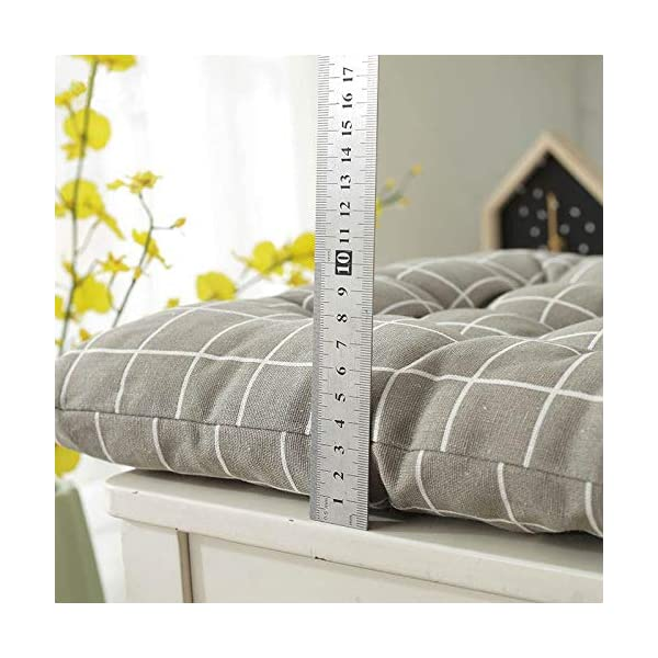 Dylandy - 1 x cuscino per sedia, per esterni, giardino, patio, casa, colore: rosa, 50 x 50 cm 5 spesavip