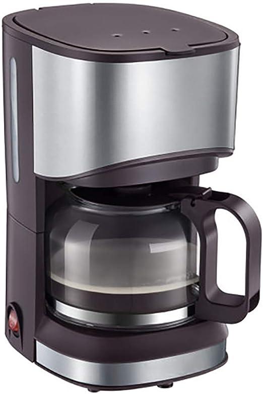 S-HH - Mini cafetera eléctrica doméstica con Goteo automático para Oficina, pequeña Tetera de café con Doble propósito para los Amantes del café: Amazon.es: Hogar