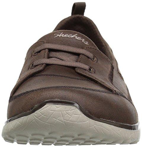 Sneaker Brown Nero Donna 23333 Skechers 6q47TT