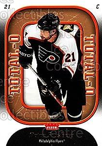 (CI) Peter Forsberg Hockey Card 2006-07 Fleer Total O 19 Peter Forsberg