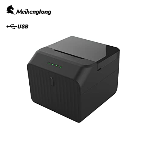 Meihengtong POS Printer, High Speed USB 58mm 2inch Thermal Receipt Printer with ESC/POS Print Commands Set, Support all Windows PC system, use for ...