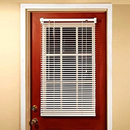 Elegant Entry Door with Mini Blinds Built In