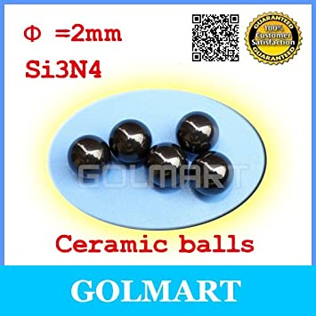 Pack-of-20 Harder 2mm Silicon Nitride Si3N4 Grade 5 Metric Balls Faster