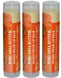 Out of Africa Lip Balm, Orange Cream, .15 oz. 3 Count