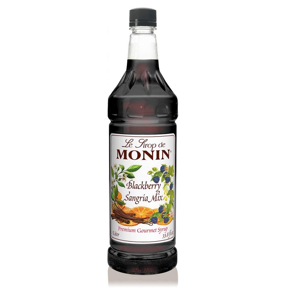 Monin Blackberry Sangria Mix 33.8FL.oz