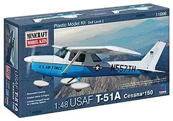 Minicraft T-51A (Cessna 150) USAF Model Building Kit, 1/48 Scale