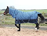 Medium/Heavy Weight 250g Combo Check Turnout Rug All Sizes