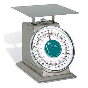 Taylor Precision THD32 HD S/S Oval 32 Oz x 1/8 Oz Portion Scale