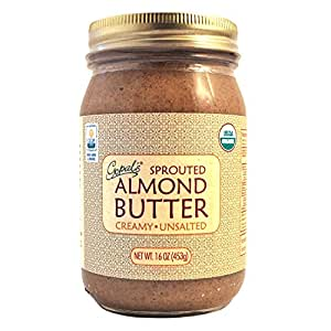 Gopal's Raw Organic Sprouted Almond Butter 16oz