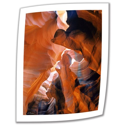 ArtWall Slot Canyon VI 24 by 18-Inch Unwrapped Canvas Art by Linda Parker with 2-Inch Accent Border from ArtWall