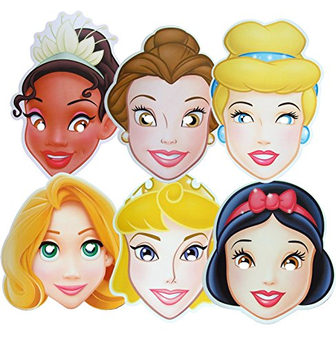 Disney Princess - MULTIPACK - Card Face -