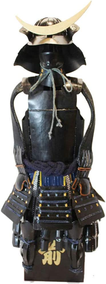 JYJTLHS Adorno De Estatua De Hierro De Armadura Negra Japonesa Samurai - Decoración De Escritorio Yida Zhengzong Warring States Warrior Character Figurine Collection