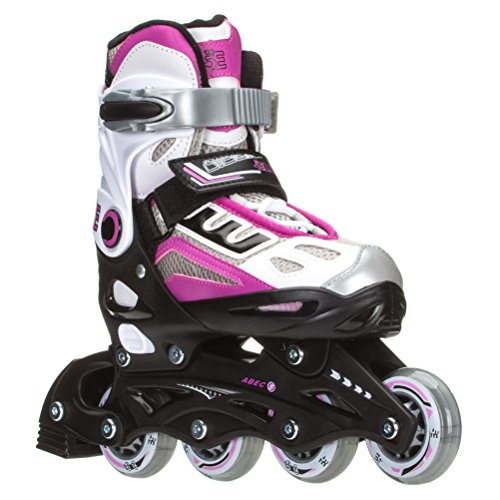Check expert advices for rollerblades girls pink and white?