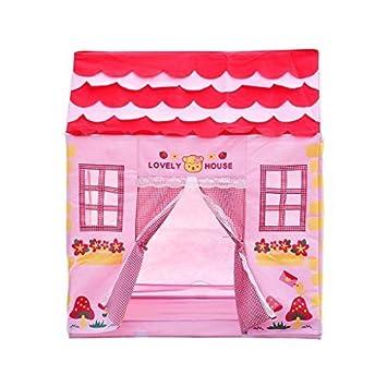 excelvan yf carpas para nios tienda de juego campaa con flores casa infantil nia