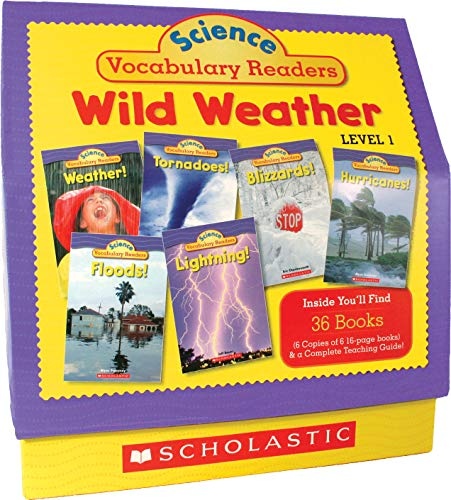 - Science Vocabulary Readers: Wild Weather: Exciting Nonfiction Books That Build Kids' Vocabularies